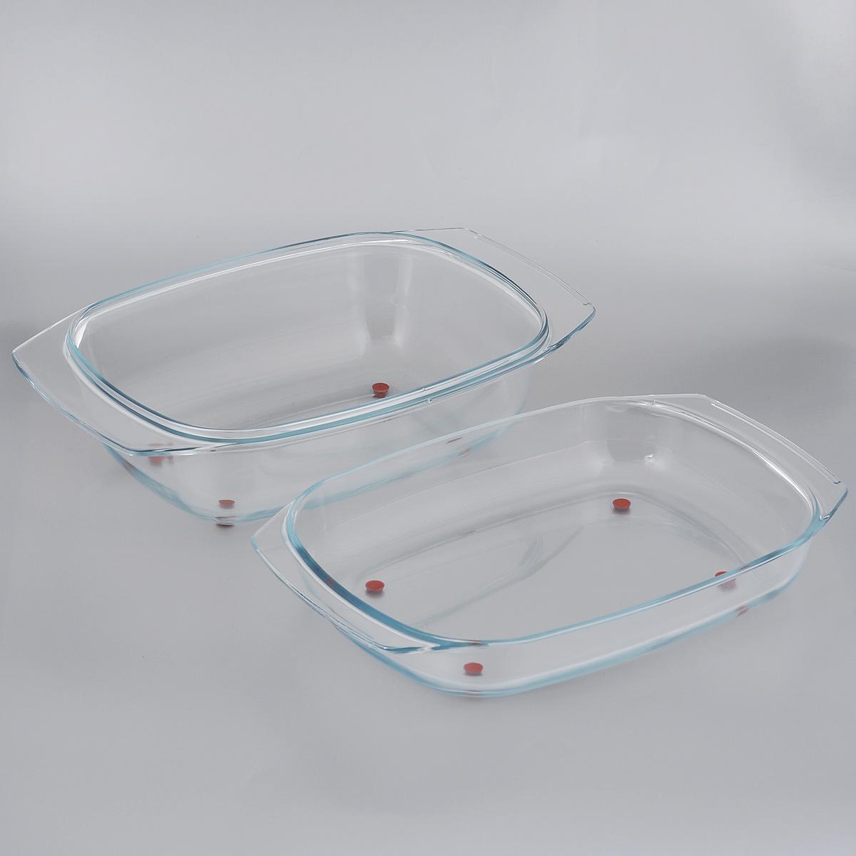 Жаровня Tescoma Delicia Glass с крышкой, 42 см х 26 см629082