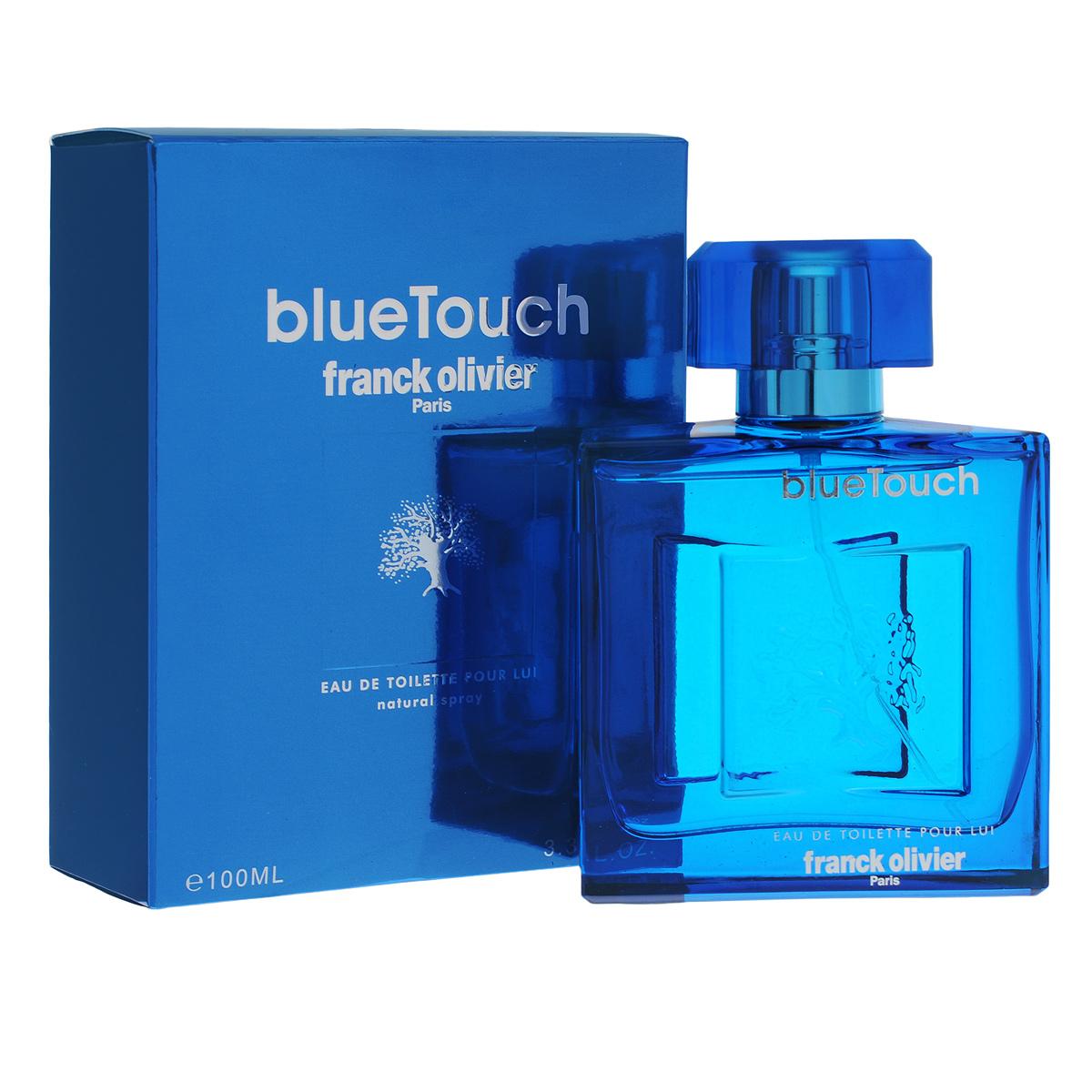 Franck Olivier Туалетная вода Blue Touch, мужская, 100 мл1301210Аромат Blue Touch от Franck Olivier был выпущен в 2011 году и является последователем загадочного аромата Black Touch. Blue Touch характеризуется как утонченный, аристократический и изящный, созданный специально для уверенных в себе мужчин, знающих себе цену. С помощью Blue Touch вы подчеркнете изысканность и грациозность своей натуры. Благодаря древесной группе ароматов Blue Touch звучит благородно и безупречно, привнося тем самым в образ своего обладателя королевские черты, подчеркивая его высокий статус.Классификация аромата: древесный, фужерный.Пирамида аромата:Верхние ноты: бергамот, цитрусы, розовый перец, тангерин, зеленые ноты.Ноты сердца: гальбанум, ветивер, шалфей, древесные ноты, дыня, пачули.Ноты шлейфа: амбра, мускус, дубовый мох.Ключевые словаУтонченный, изящный, грациозный!Туалетная вода - один из самых популярных видов парфюмерной продукции. Туалетная вода содержит 4-10%парфюмерного экстракта. Главные достоинства данного типа продукции заключаются в доступной цене, разнообразии форматов (как правило, 30, 50, 75, 100 мл), удобстве использования (чаще всего - спрей). Идеальна для дневного использования. Товар сертифицирован.