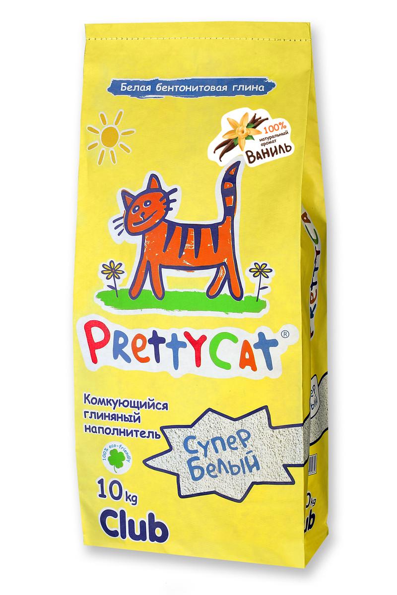 Наполнитель для кошачьих туалетов PrettyCat Супер белый, комкующийся, с ароматом ванили, 10 кг620307Наполнитель для кошачьих туалетов PrettyCat Супер белый - это 100% натуральный комкующийся наполнитель. Изготовлен из белой бентонитовой глины с ароматом ванили. Впитывает до 400% влаги, прекрасно комкается в идеально ровные шарики. Уничтожает запахи и обеспечивает двойное обеспыливание. Материал: белая бентонитовая глина. Вес: 10 кг. Диаметр гранул: 0,6 - 1,7 мм.
