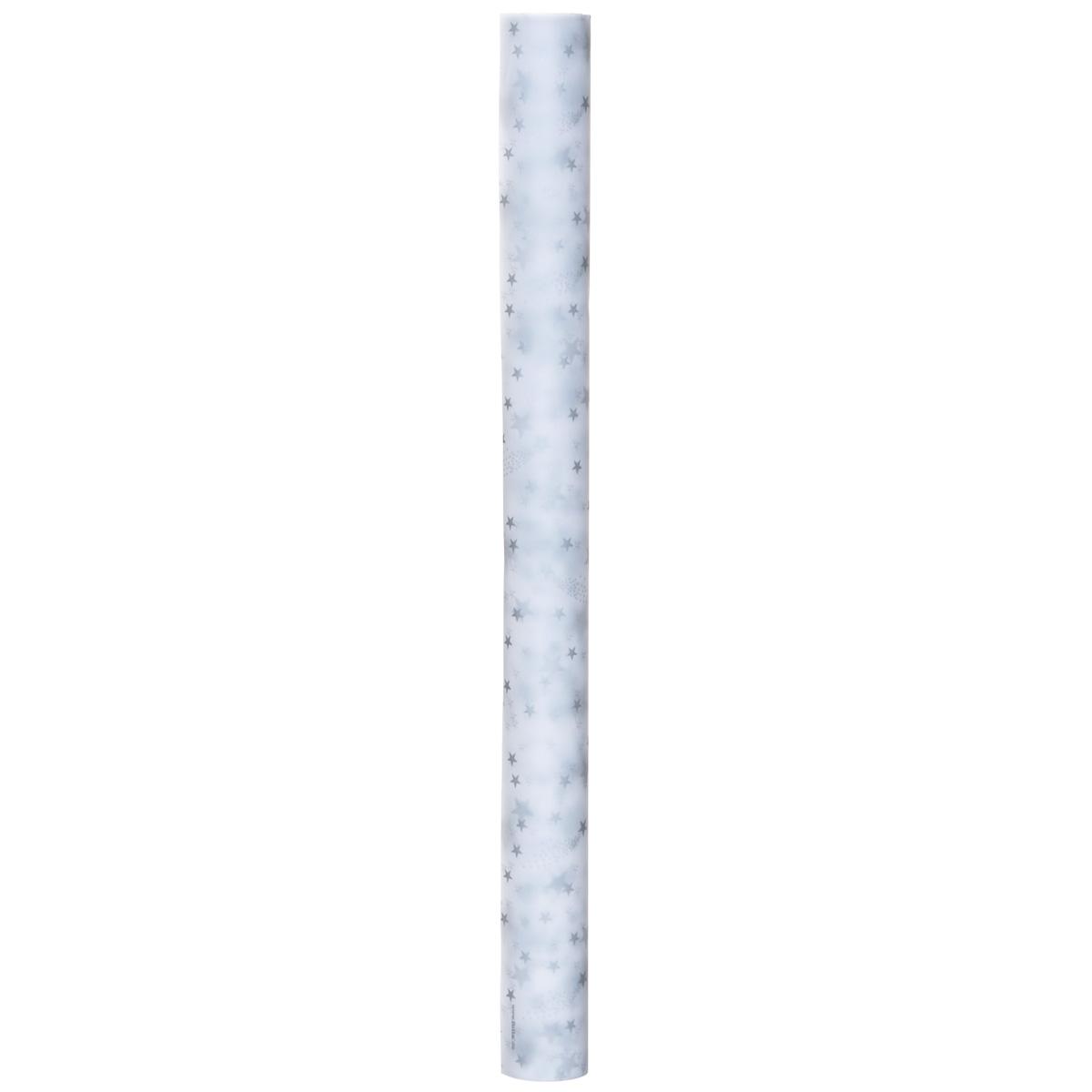 Транспарентная бумага Folia Звезды, цвет: белый, серебристый, 50,5 x 70 см7708112Транспарентная бумага Folia Звезды - полупрозрачная бумага с оригинальным дизайном в виде красивых звезд. Используется для изготовления открыток, для скрапбукинга и других декоративных или дизайнерских работ. Бумага прекрасно держит форму, не пачкает руки, отлично крепится. Конструирование из транспарентной бумаги - необходимый для развития детей процесс. Во время занятия аппликацией ребенок сумеет разработать четкость движений, ловкость пальцев, аккуратность и внимательность. Кроме того, транспарентная бумага позволит разнообразить идеи ребенка при создании творческих работ.
