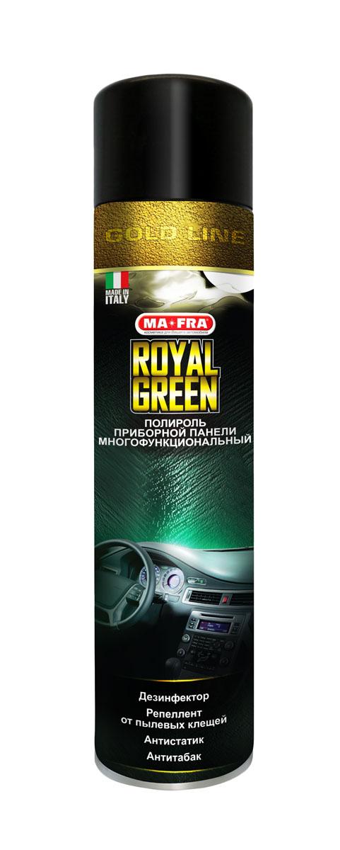Полироль приборной панели Sapfire Royal Green, 600 млH0487Полироль Sapfire Royal Green — это инновационный продукт широкого спектра действия. Благодаря его уникальной формуле, вы имеете возможность не только очистить, но и продезинфицировать салон автомобиля. Sapfire Royal Green нейтрализует запах табачного дыма, а входящий в его состав репеллент отпугивает клещей. Средство гарантирует идеальную чистоту, красоту и безопасность салона автомобиля. Состав: органические растворители: гексан 50-80%, бутан 20-30%, 1,2-дихлорпропан <5%, двуокись углерода