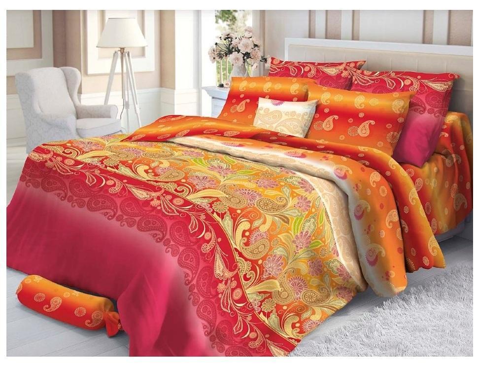 Комплект белья Verossa Sankara, 1,5-спальное, наволочки 70х70. 180393180393Превосходное, стильное белье из 100% хлопковой ткани - сатина, станет украшением любой спальни. Благодаря высокому номеру пряжи, атласному переплетению, а также высокой плотности ткани, сатин является невероятно мягкой и гладкой тканью с особым блеском, а также высокой прочностью. Предназначено для женщин, которые любят и ценят себя и свой комфорт. Они обладают хорошим вкусом и при этом практичны. Их ценности – дом, семья, традиции домашнего уюта.