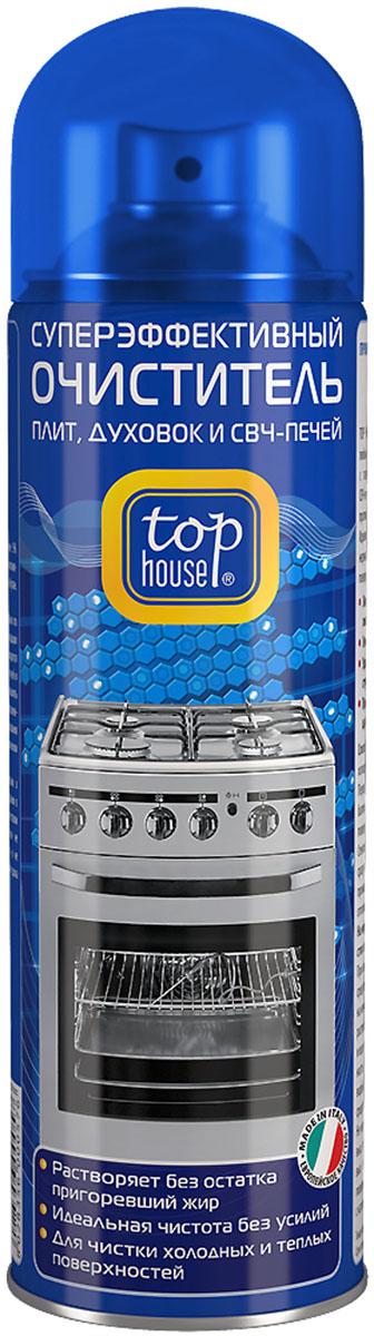 Очиститель плит, духовок и СВЧ-печей Top House, 500 мл392562Очиститель плит, духовок и СВЧ-печей Top House (аэрозоль) - суперэффективный очиститель любых пригоревших загрязнений и жира с газовых и электрических плит, духовок, СВЧ-печей, грилей, решеток для барбекю, противней, жаровен, сковородок и кастрюль. Легко удаляет стойкий пригоревший жир с эмалированных, нержавеющих, стеклокерамических и стеклянных поверхностей. - Придает сияющую чистоту и блеск без царапин - Удаляет загрязнения даже в труднодоступных местах - Растворяет без остатка пригоревший жир - Идеальная чистота без усилий - Для чистки холодных и теплых поверхностей Состав: менее 5% анионных и неионных ПАВ, гексиленгликоль, моноэтаноламин, ароматизатор (гексил циннамал), пропан/бутан. Товар сертифицирован.