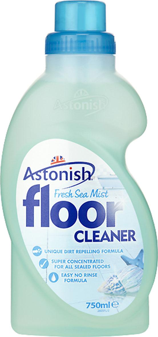 Средство для очистки полов Astonish Океан, 750 мл22605Концентрированное жидкое средство для очистки полов Astonish Океан предназначено для мытья полов с покрытием из винила, линолеума и керамической плитки. Средство легкое в применении, не требует смывания. Специально разработанная формула великолепно очищает всевозможные загрязнения и придает полам сияющую чистоту и свежесть. Состав: менее 5% неионные ПАВ, мыло, консервант - бромонитропропандиол, ароматизатор. Товар сертифицирован.