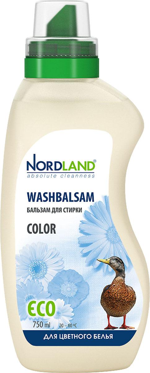 Бальзам для стирки цветного белья Nordland Color, 750 мл790009Бальзам для стирки Nordland Color специально предназначен для стирки цветного белья и одежды из синтетических и хлопчатобумажных тканей. Сохраняет яркость красок, предотвращает смешивание цветов. Содержит безопасные, не раздражающие кожу компоненты. Подходит для всех типов стиральных машин и ручной стирки при температуре от +20° до +60°С.- Без красителей- Антиаллергенный состав- Экономичный расход- Действует уже при +20°С- Биораспад 100%Состав: 5-15% анионные ПАВ; менее 5% неионные ПАВ, мыло, фосфонаты; энзимы, ароматизатор, консерванты (бензизотиазолинон, метилизотиазолинон). Товар сертифицирован.