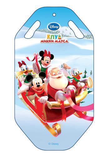 Ледянка Disney Клуб Микки Мауса, длина 92 смт55259Ледянка с красочным дизайном героев популярного мультфильма Клуб Микки Мауса от Disney. Несмотря на то, что ледянка очень легкая и прочная, на ней можно кататься практически с любых горок. Изготовлена из прочного вспененного пластика. Прорези для рук позволят не упасть при спуске с крутых горок. Яркий рисунок будет долго держаться даже при интенсивном катании.
