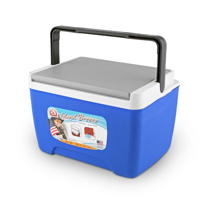 Изотермический пластиковый контейнер Igloo Island Breeze 9 синий43251Изотермический пластиковый контейнер Igloo Island Breeze 9 синий