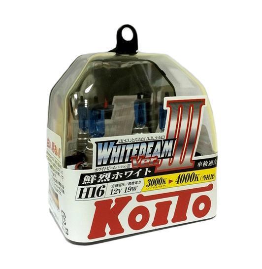 Лампа высокотемпературная Koito Whitebeam, 4000 К, 12В, 2 штP0749WЛампа высокотемпературная Koito Whitebeam, 4000 К, 12В, 2 шт - обладают ярким эффектным светом и компактными размерами. У лампы есть большой запас срока службы. Способна выдержать большое количество включений и выключений. Напряжение: 12 вольт