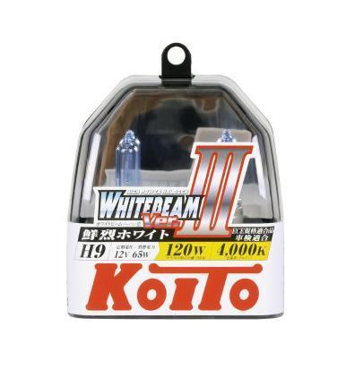 Лампа высокотемпературная Koito Whitebeam H9 12V 65W (120W) пластиковая упаковка -2 шт. комплект P0759WKOITO Лампа автомобильная P0759WЯпонская компания KOITO - мировой лидер по производству автомобильных ламп и оптики. Компания основана в 1915 году и в настоящее время входит в корпорацию TOYOTA GROUP и имеет представительства и совместные предприятия по всему миру. Продукция KOITO широко применяется не только для автомобилей, но и для железнодорожных подвижных составов, авиационного и морского транспорта. Компания KOITO выпускает все разновидности лампочек, начиная от ламп головного света и заканчивая подсветкой салона и приборов, для абсолютно всех моделей японских автомобилей и мотоциклов. Компания KOITO выпускает все разновидности ламп и предохранителей для всех моделей японских автомобилей, а также широкий ассортимент для европейских и американских автомобилей. В ассортименте KOITO есть как лампы стандартной комплектации, так и лампы особых серий, таких как VWHITE и WHITEBEAM. Лампы особых серий VWHITE и WHITEBEAM обеспечивают удвоенную яркость при стандартной мощности. Эти лампы соответствуют всем нормам и...