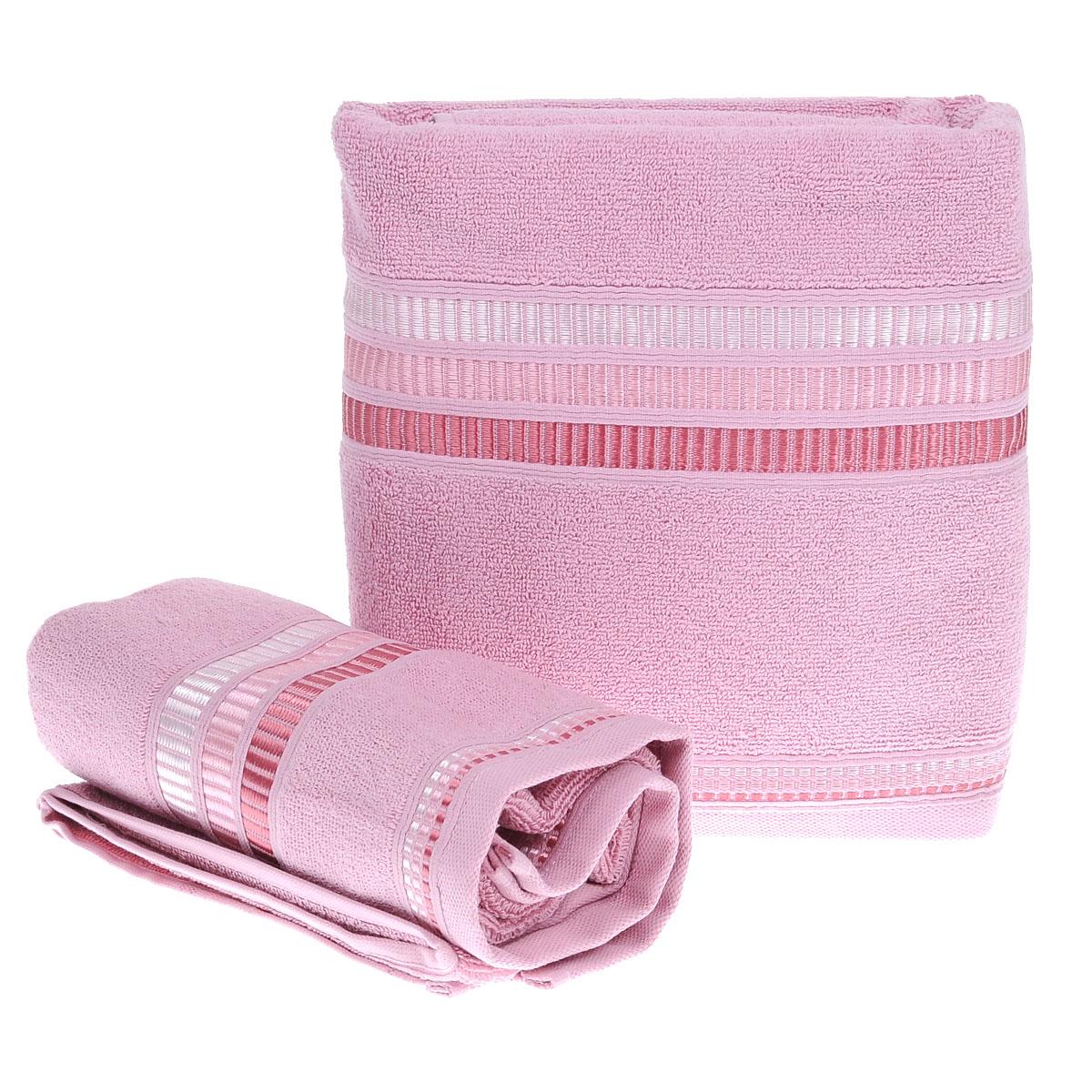 Набор махровых полотенец Coronet Пиано, цвет: сиреневый, 2 шт. Б-МП-2020-15-11-сБ-МП-2020-15-11-сПодарочный набор Coronet Пиано состоит из двух полотенец разного размера, выполненных из натуральной махровой ткани. Полотенца украшены изящным декоративным тиснением. Мягкие и уютные, они прекрасно впитывают влагу и легко стираются. Такой набор подарит вам мягкость и необыкновенный комфорт в использовании. Благодаря высокому качеству изготовления, полотенце будет радовать многие годы. Полотенца упакованы в подарочную коробку и станут приятным и полезным подарком вашим друзьям и близким. Комплектация: 2 шт. Плотность полотенец 550 г/м.