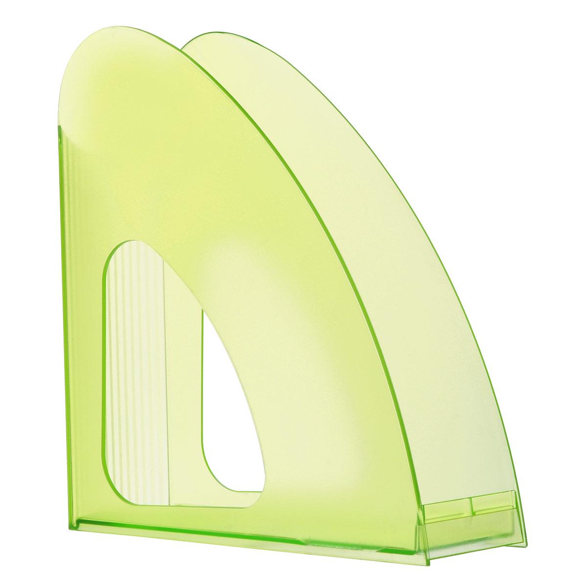 """Лоток для бумаг вертикальный HAN """"Twin"""", прозрачный, цвет: зеленый HA1611/60"""