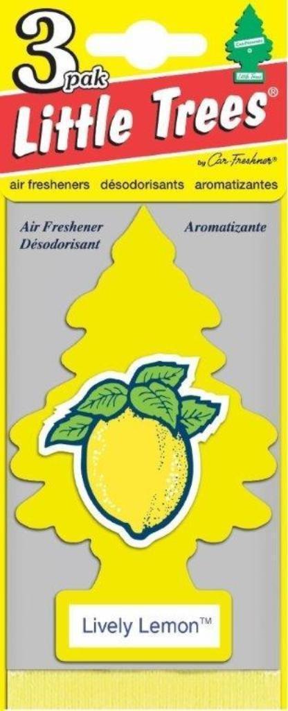 Набор ароматизаторов Car-Freshner Елочка Живой лимон, 3 штU3S-32013Оригинальный ароматизатор сделан из высококапилярного качественного картона - что позволяет долго сохранять аромат и насыщенность красок изображения. Уникален по эффективности действия, насыщенности и стойкости запаха Повесьте ароматизатор в любом удобном месте - в салоне автомобиля, дома или в офисе - и получайте удовольствие! Характеристики: Материал: 100% спрессованная целлюлоза, полимеры, не токсичные отдушки. Размер упаковки: 19 см х 7,5 см х 1 см. Артикул: U3S-32013.