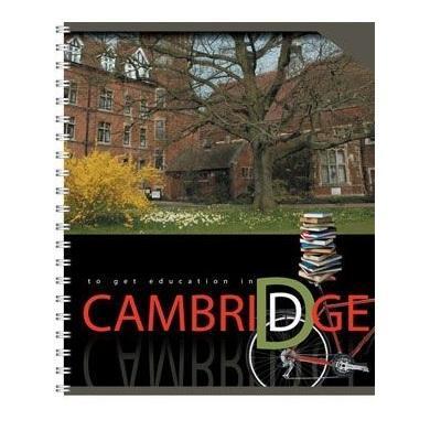 Полиграфика Тетрадь на спирали, 80л Cambridge, УФ-лак (двор)610842Отличная тетрадь подойдет как школьнику так и в повседневной жизни. Тетрадь сделана из качественной бумаги. Обложку украшает отличный принт.