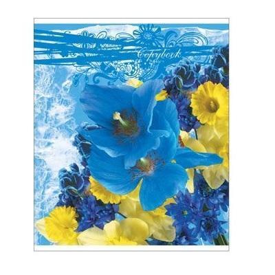 Полиграфика Тетрадь, 96л Floral Melody4601921376029Отличная тетрадь подойдет как школьнику так и в повседневной жизни. Тетрадь зделана с качественой бумаги. Обложку украшает отличный принт.