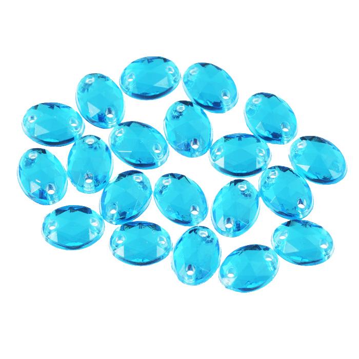 Стразы пришивные Астра, акриловые, овальные, цвет: голубой (32), 6 мм х 8 мм, 20 шт. 7701649_327701649_32 голубойНабор страз Астра, изготовленный из акрила, позволит вам украсить одежду и аксессуары. Стразы оригинального и яркого дизайна овальной формы оснащены отверстиями для пришивания. Украшение стразами поможет сделать любую вещь оригинальной и неповторимой.
