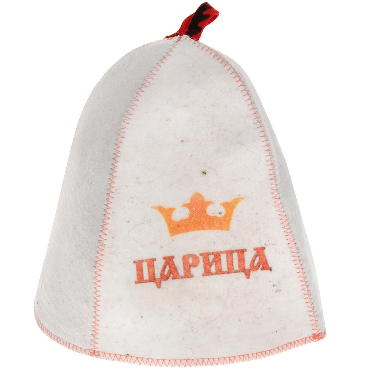 Шапка для бани и сауны Царица, шерстьБ410Шапка для бани и сауны - это незаменимый аксессуар для любителей попариться в русской бане и для тех, кто предпочитает сухой жар финской бани. Шапка оформлена надписью Царица. Необычный дизайн изделия поможет сделать Ваш отдых более приятным и разнообразным, к тому же шапка защитит Вас от появления головокружения в бани, волосы от сухости и ломкости, а голову от перегрева. Такая шапка станет отличным подарком для любителей отдыха в бане или сауне. Диаметр основания шапки: 34 см. Высота шапки: 26 см.
