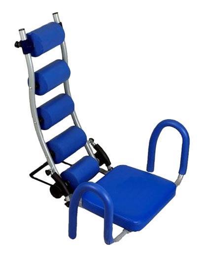 Тренажер Ab Trainer для пресса. TF007TF007Тренажер Ab Trainer тренирует все мышцы брюшного пресса, помогает в уменьшении талии и улучшении общего силуэта фигуры. Эффект массирующих подушек во время занятий; Поддерживает шею и спину, тем самым уменьшая напряжение мышц; Подходит для человека любого роста и комплекции; Сделан из высокопрочной стали; Легкий и компактный; Складной (его можно хранить под кроватью); Высота верхней подушки регулируется. Просто сядьте на тренажер, откиньтесь назад и расслабьтесь. Система сопротивления, состоящая из пары пружин, поможет вам начать упражнение. Она помогает вам именно там, где это необходимо. В комплект с тренажером входят три пары пружин с разным уровнем жесткости, на которых для наглядности нанесены полосы разных цветов. Делать наклоны вперед, назад и в разные стороны очень легко, при этом упражнения становятся чрезвычайно эффективными. Это революционное изобретение, помогающее избавиться от лишнего веса в любой части вашего...