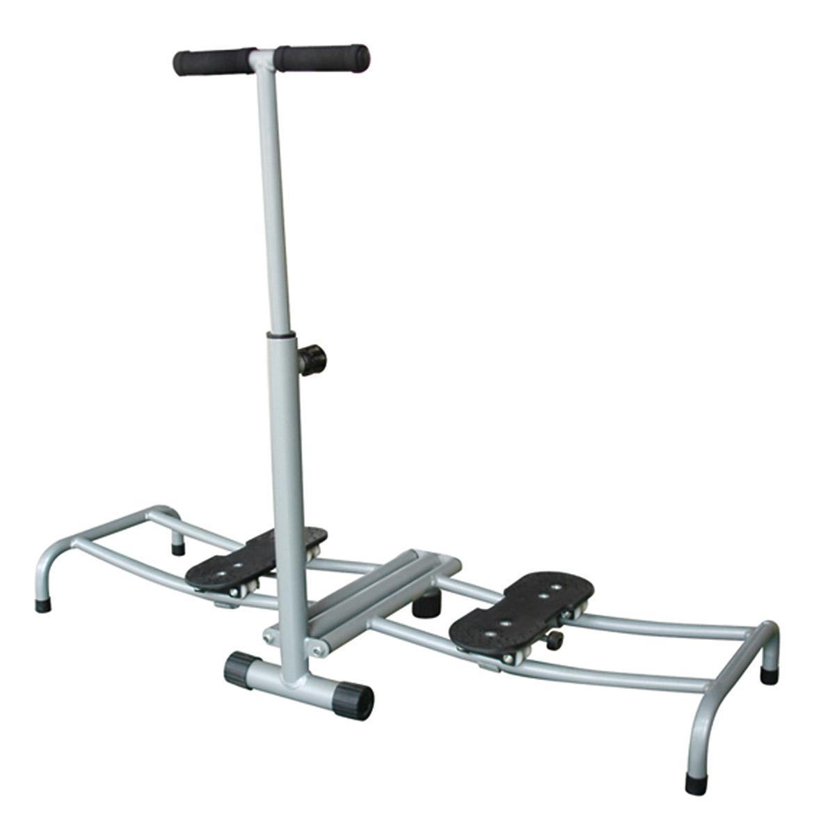Тренажер для ног Easy Leg. TF1067TF1067Тренажер Easy Leg задействует более 200 мышц во время тренировки, заставляя работать и внутреннюю и внешнюю поверхность бедер, и тренирует нижние мышцы живота. Чтобы получить результат от занятий с тренажером, вам потребуется тратить на тренировку всего по 2-3 минуты в день. Тренажер очень прост в установке, использовании, транспортировке и не займет много места в квартире. Красивые, стройные бедра и упругие ягодицы. Тренажер для проблемных зон женского тела. Ручка регулируется по высоте. К тренажеру прилагается инструкция по сборке и эксплуатации на русском языке. Характеристики: Материал: металл, пластик. Размер тренажера (в собранном виде): 103 см х 45 см х 92 см. Мах вес пользователя: 100 кг. Размер упаковки: 60 см х 20 см х 40 см. Производитель: Китай. Артикул: TF1067.