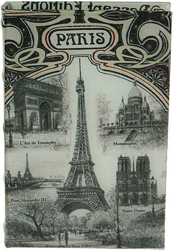 Шкатулка-фолиант Париж 21*14*3смFS-91909Шкатулка Русские подарки Париж 184232 сохранит ваши украшения в первозданном виде. С ней вы сможете внести в интерьер частичку элегантности. Данная модель выполнена из качественных материалов и станет оригинальным подарком. Материал: MDF, кож. зам; цвет: серый