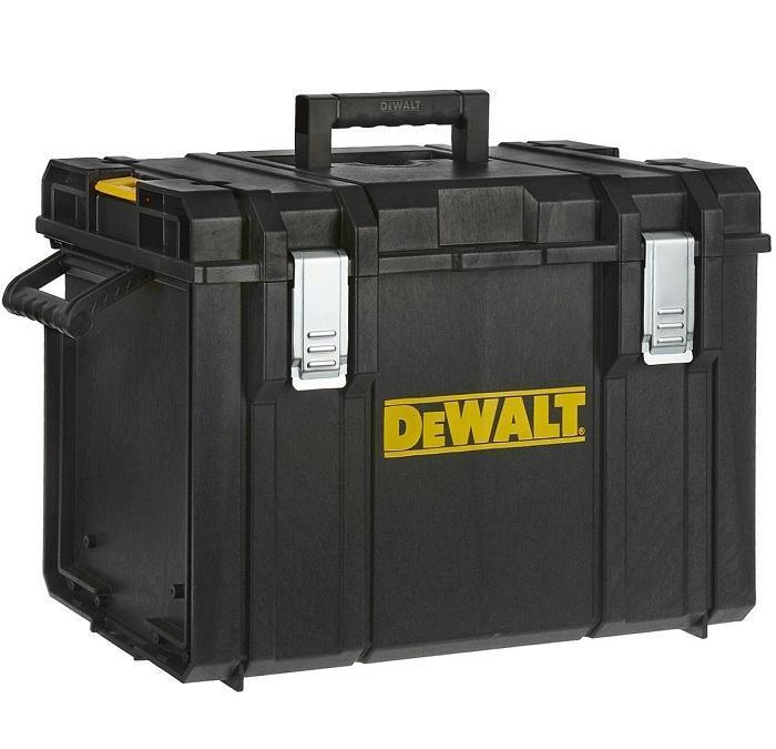 Ящик-модуль для инструмента DeWalt Tough System DS40098298130Ящик инструментальный DeWalt Tough System DS400 со съемным лотком для хранения мелкого инструмента специальный вертикальный органайзер. Входит в комплектацию модульной системы хранения инструмента DeWalt Tough System 1-70-349.