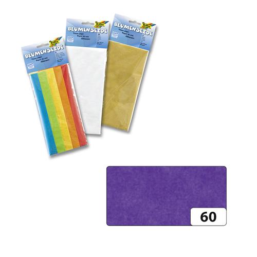 Бумага папиросная Folia, цвет: фиолетовый (60), 50 см х 70 см, 5 листов. 7708123_607708123_60Бумага папиросная Folia - это великолепная тонкая и эластичная декоративная бумага. Такая бумага очень хороша для изготовления своими руками цветов и букетов с конфетами, топиариев, декорирования праздничных мероприятий. Также из нее получается шикарная упаковка для подарков. Интересный эффект дает сочетание мягкой полупрозрачной фактуры папиросной бумаги с жатыми и матовыми фактурами: креп-бумагой, тутовой и различными видами картона. Бумага очень тонкая, полупрозрачная - поэтому ее можно оригинально использовать в декоре стекла, светильников и гирлянд. Достаточно большие размеры листа и богатая цветовая палитра дают простор вашей творческой фантазии. Размер листа: 50 см х 70 см. Плотность: 20 г/м2.
