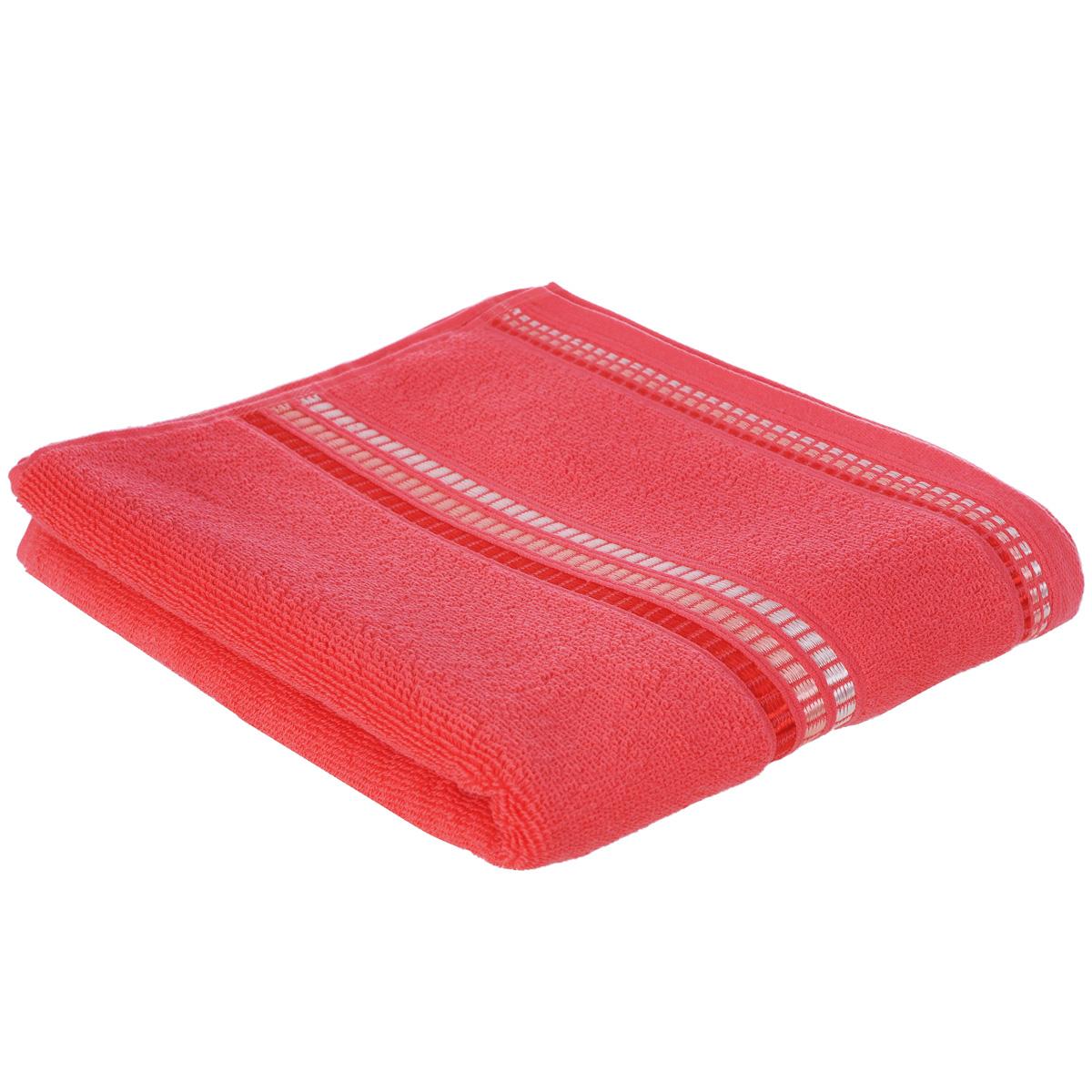 Полотенце махровое Coronet Пиано, цвет: коралловый, 50 х 90 смБ-МП-2020-01-02Махровое полотенце Coronet Пиано, изготовленное из натурального хлопка, подарит массу положительных эмоций и приятных ощущений. Полотенце отличается нежностью и мягкостью материала, утонченным дизайном и превосходным качеством. Оно прекрасно впитывает влагу, быстро сохнет и не теряет своих свойств после многократных стирок. Махровое полотенце Coronet Пиано станет достойным выбором для вас и приятным подарком для ваших близких. Мягкость и высокое качество материала, из которого изготовлены полотенца не оставит вас равнодушными.