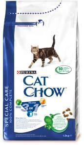 Корм сухой для кошек Cat Chow Feline, с формулой тройного действия, 1,5 кг12212308Корм сухой для кошек Cat Chow Feline - полнорационный корм для взрослых кошек с формулой тройного действия. Сама природа вдохновляет компанию PURINA на разработку кормов, которые максимально отвечают потребностям ваших питомцев, с учетом их природных инстинктов. Имея более чем 80-ти летний опыт в области питания животных, PURINA создала новый корм Cat Chow - полностью сбалансированный корм, который не только доставит удовольствие вашей кошке, но и будет полезным для ее здоровья. Особенности корма Cat Chow Feline: Высокое содержание мяса, с источниками высококачественного белка в каждой порции для поддержания оптимальной массы тела. Особое сочетание натуральных ингредиентов, тщательно отобранные травы и овощи (петрушка, шпинат, морковь, горох). Отборные ингредиенты придают особый аромат. Высокое содержание витамина Е для поддержания естественной защиты организма питомца. Содержит мякоть свеклы и цикорий для...