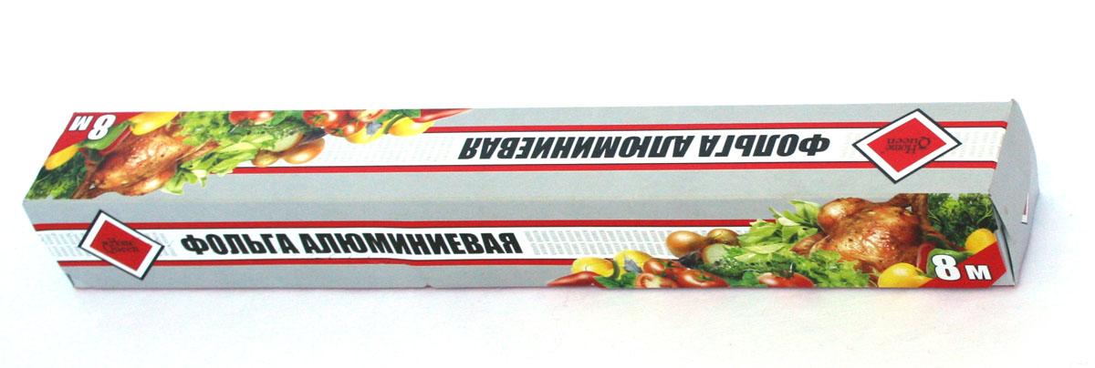Фольга алюминиевая Home Queen, 8 м50861Фольга алюминиевая Home Queen применяется для хранения, запекания и транспортировки продуктов. Позволяет приготовить мясо, курицу, овощи с сохранением вкуса и аромата, без масла и жира, усиливает аромат приправ. Пища готовиться в собственном соку. Предохраняет от запахов кухню, защитит духовку от загрязнений. Длина: 8 м. Ширина: 29 см.