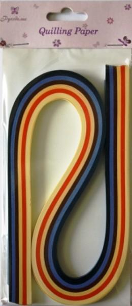 Бумага для квиллинга Рукоделие Ассорти-2, ширина 0,3 см, длина 54 см, 6 цветов, 120 шт315027_008Бумага для квиллинга Рукоделие Ассорти-2 - это порезанные специальным образом полоски бумаги определенной плотности. Такая бумага пластична, не расслаивается, легко и равномерно закручивается в спираль, благодаря чему готовым спиралям легче придать форму. Квиллинг (бумагокручение) - техника изготовления плоских или объемных композиций из скрученных в спиральки длинных и узких полосок бумаги. Из бумажных спиралей создаются необычные цветы и красивые витиеватые узоры, которые в дальнейшем можно использовать для украшения открыток, альбомов, подарочных упаковок, рамок для фотографий и даже для создания оригинальных бижутерий. Это простой и очень красивый вид рукоделия, не требующий больших затрат. Длина полоски бумаги: 54 см. Ширина полоски бумаги: 3 мм. Количество цветов: 6.