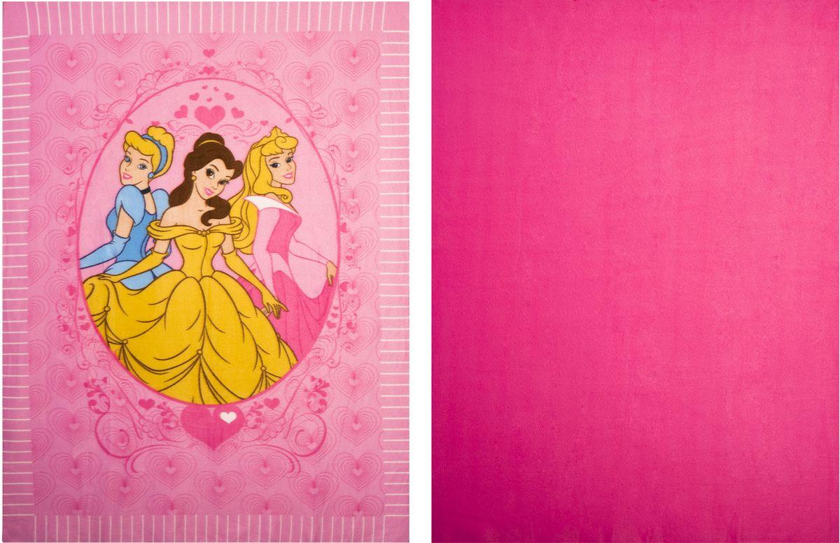 """Набор пледов для рукоделия Disney """"Принцессы"""", 122 х 152 см, 2 шт 60610"""