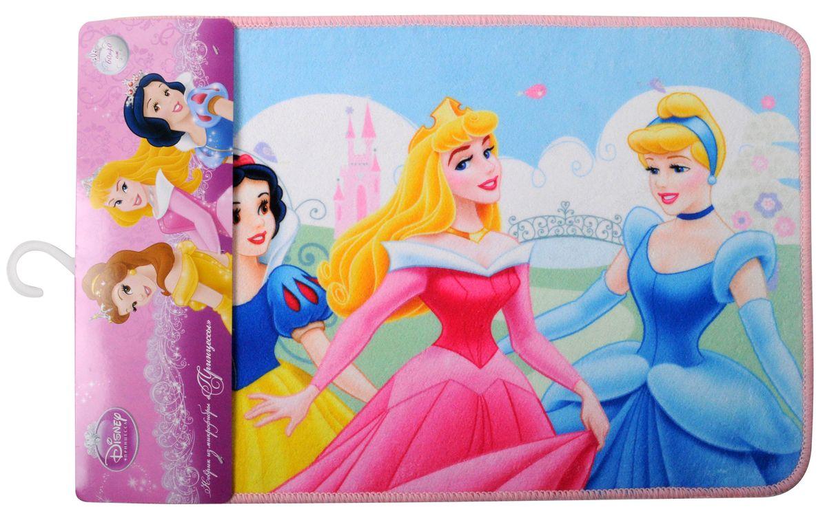 Коврик Disney Принцессы, 40 х 60 см60636Коврик Disney Принцессы, изготовленный из микрофибры (полиэстера) с основой из ПВХ, имеет комфортную бархатистую поверхность и хорошо впитывает влагу. Коврик, декорированный красочным изображением сказочных принцесс, внесет оригинальную нотку в интерьер дома. Противоскользящее основание препятствует скольжению коврика на влажном полу. Коврик с ярким принтом украсит любую детскую комнату. Вы можете положить коврик рядом с детской кроваткой или у стола, за которым ребенок делает уроки. Также коврик можно использовать в ванной комнате, благодаря его способности впитывать влагу. Коврик Disney Принцессы - прекрасное решение для детской или ванной комнаты. УВАЖАЕМЫЕ КЛИЕНТЫ! Обращаем ваше внимание на возможные изменения в дизайне, связанные с ассортиментом продукции. Поставка осуществляется в зависимости от наличия на складе.
