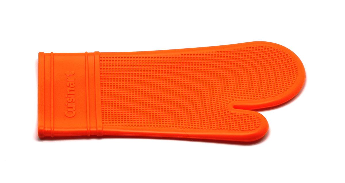 Прихватка-варежка, цвет: оранжевыйSC-GL-009-OСиликоновая прихватка-варежка выдерживает до 230°С. Эластичная , износостойка, влагонепроницаема, легко моется. Прихваткой можно брать не только горячие, но и холодные предметы, а также влажные и скользкие.