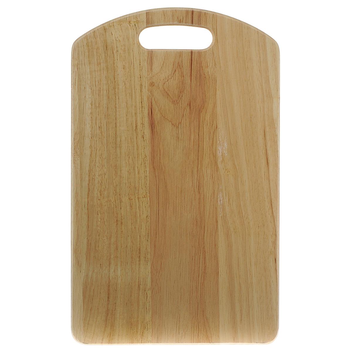 Доска разделочная Green Way, 45 см х 28 см9/742Разделочная доска Green Way изготовлена из натурального дерева. Прекрасно подходит для приготовления и сервировки пищи. Всем известно, что на кухне без разделочной доски не обойтись. Ведь во время приготовления пищи мы то и дело что-то режем. Поэтому разделочная доска должна быть изготовлена из прочного и экологически чистого материала, ведь с ней соприкасается наша пища. Доска оснащена специальным отверстием для подвешивания в любом удобном месте. Функциональная и простая в использовании, разделочная доска Green Way прекрасно впишется в интерьер любой кухни и прослужит вам долгие годы. Нельзя мыть в посудомоечной машине.