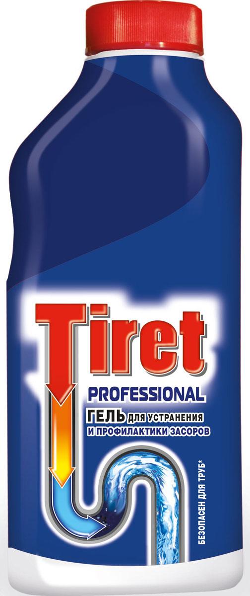 """Гель для удаления засоров """"Tiret professional"""", 500 мл 7506505"""