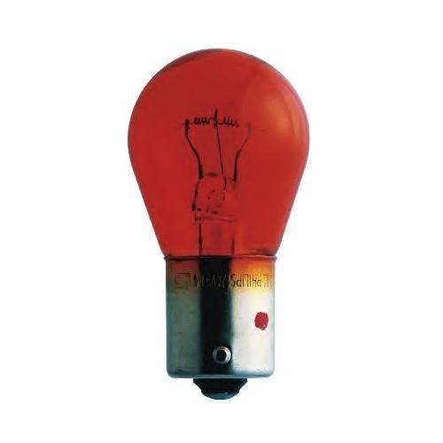 Автомобильная лампа накаливания Philips PY21W 24V-21W (BAU15s) (вибростойкая+увелич.срок службы) MasterLife. 13496MLCP