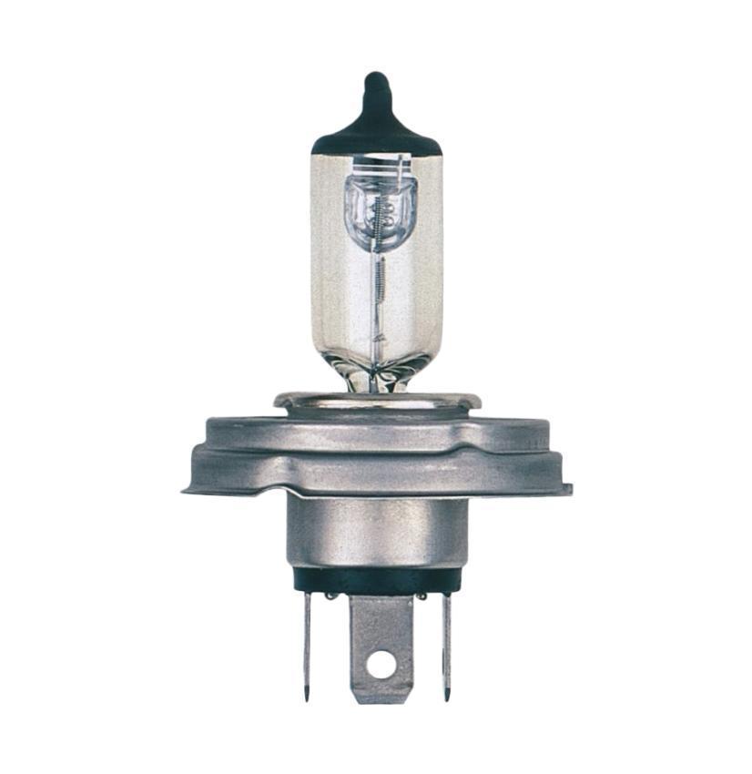 Лампа автомобильная Narva HR2 12V-45/40W (P45t) 4812148121Лампа фары - галогенная, автомобильная, две функции (двухнитевая лампа), напряжение 12 Вольт, номинальная мощность 45/40 Ватт, с металлическим цоколем (исполнение патрона P45t). Освещение. Основная (головная) фара (передняя оптика, штатные фары) без и с автоматической системой стабилизации (механический (ручной) корректор, электрический корректор, автоматический корректор) с функциями: лампа дальнего и ближнего света. В соответствии с каталогом производителя продукции и конструктивной спецификацией производителя автомобиля. Напряжение: 12 вольт