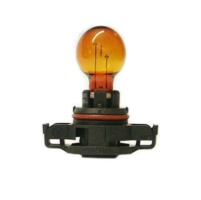 Лампа автомобильная галогенная сигнальная Philips HiPerVision, цоколь PSY24W (PG20/4), 12V, 24W12188NAC1Автомобильная лампа Philips Vision изготовлена из запатентованного кварцевого стекла с УФ-фильтром Philips Quartz Glass. Кварцевое стекло в отличие от обычного стекла выдерживает гораздо большее давление и больший перепад температур. При попадании влаги на работающую лампу, лампа не взрывается и продолжает работать. Лампа Philips Vision производит на 30% больше света по сравнению со стандартной лампой, благодаря чему стоп-сигналы или указатели поворота будут заметны с большего расстояния. Применение лампы: - передний указатель поворота; - задний указатель поворота; - фонарь подсветки государственного регистрационного знака; - задний противотуманный фонарь; - габаритный фонарь/стояночный фонарь; - стоп-сигнал; - дневные ходовые огни; - задний фонарь. Лампа Philips Vision отличается высокой эффективностью, соответствуя всем современным требованиям.