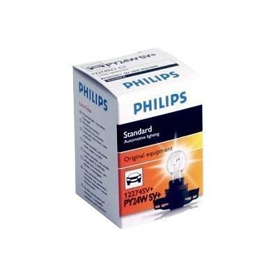 Сигнальная автомобильная лампа Philips PY24W 12V-24W (PGU20/4) (серебристый дизайн) HiPerVision Silver Vision. 12274SV+C112274SV+C1Автомобильные лампы Philips - ваш надежный путеводитель на дорогах. Грамотно продуманный ассортимент и ценовая политика Philips позволяют автомобилисту подобрать автомобильную лампу согласно своих пожеланий. Классическое решение от Philips различного назначения для всех видов автомобилей. Напряжение: 12 вольт