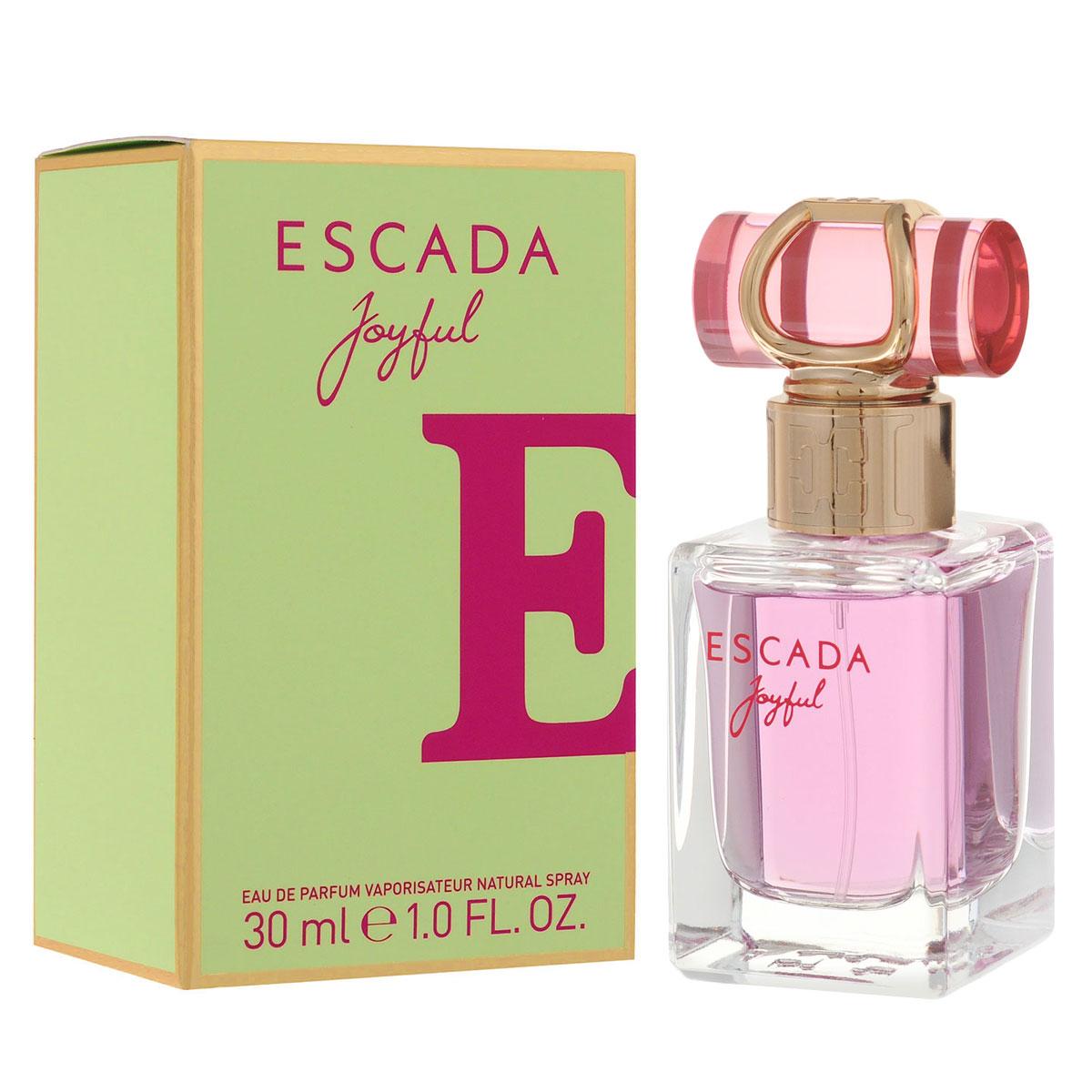 Escada Парфюмерная вода Joyful, женская, 30 мл0737052778266Нежный и легкий, словно мерцающая утренняя роса, ESCADA Joyful – это восхитительный цветочный аромат. Насыщенный аромат магнолии и розового пиона придает аромату глубину, выразительность и изысканный характер. Верхние ноты Аромат открывается аккордом сорбета из черной смородины, который дарит коже ощущение свежести и прохлады. Энергичные ноты мандарина и дыни придают композиции игривость и свободу духа. Сердечные ноты Фруктовые аккорды гармонично дополняются нотами листьев фиалки, в то время как розовый пион добавляет жизнерадостности. Натуральное масло магнолии придает особую свежесть, которую усиливают острые ноты розовой фрезии и цикламена. Базовые ноты Теплый шлейф содержит уникальный компонент, Florimoss, придающий композиции землистые оттенки, окутанные нотами теплого сливочного сандалового дерева и роскошных медовых сот. Все это создает идеальное обрамление и добавляет насыщенности цветочным ингредиентам. Верхняя нота: сорбет из черной смородины, мандарина и дыни. ...