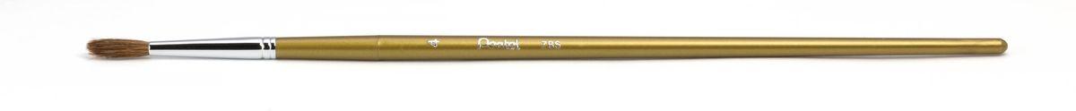 Кисть для рисования Pentel, пони, круглая, размер 4ZBS1-4Кисть для рисования Pentel изготовлена из волоса пони. В отличие от обычных лошадей, волос пони отличается мягкостью, гладкостью, шелковистостью. Волос пони толще волоса белки, поэтому кисти из пони более плотные. Основное применение: акварель, гуашь, клей и косметические средства. Длина кисти: 22,5 см. Материал: мех пони, пластик, металл. Ширина щетины: 0,5 см. Длина щетины: 1,5 см.