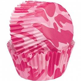Набор бумажных форм для кексов Розовый камуфляж, диаметр 5 см, 75 штWLT-415-8072Используются для выпекания кексов. Диаметр 5 см. В наборе 75 шт.
