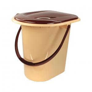Ведро-туалет ПМ 17л корич М1319М1319Ведро-туалет ПМ 17л корич М1319 Уважаемые клиенты! Обращаем ваше внимание на возможные изменения в цвете некоторых деталей товара. Поставка осуществляется в зависимости от наличия на складе. Пластик