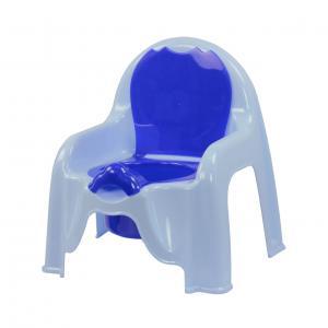 """Горшок-стульчик """"Альтернатива"""", с крышкой, цвет: голубой М1326"""