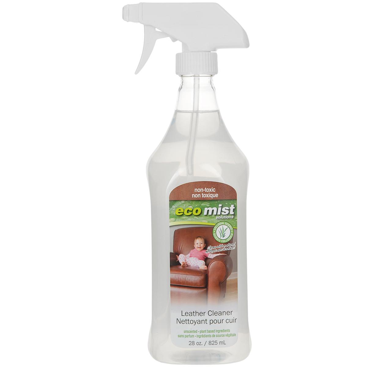 Средство для чистки натуральной кожи Eco Mist, 825 мл790009Известно,что очень сложно почистить профессионально в домашних условиях кожаную цветную мебель, т.к химические компоненты могут негативно сказаться на цвете, а также требуется дополнительное средство для пропитки. Инновационная формула средства Eco Mist на водной основе эффективно очищает, защищает от повторного загрязнения. Мебель приобретает первоначальный ухоженный и чистый вид.Состав: дехлорированная вода, экстракт зерновых, древесный сок, экстракт кукурузы, экстракт картофеля.