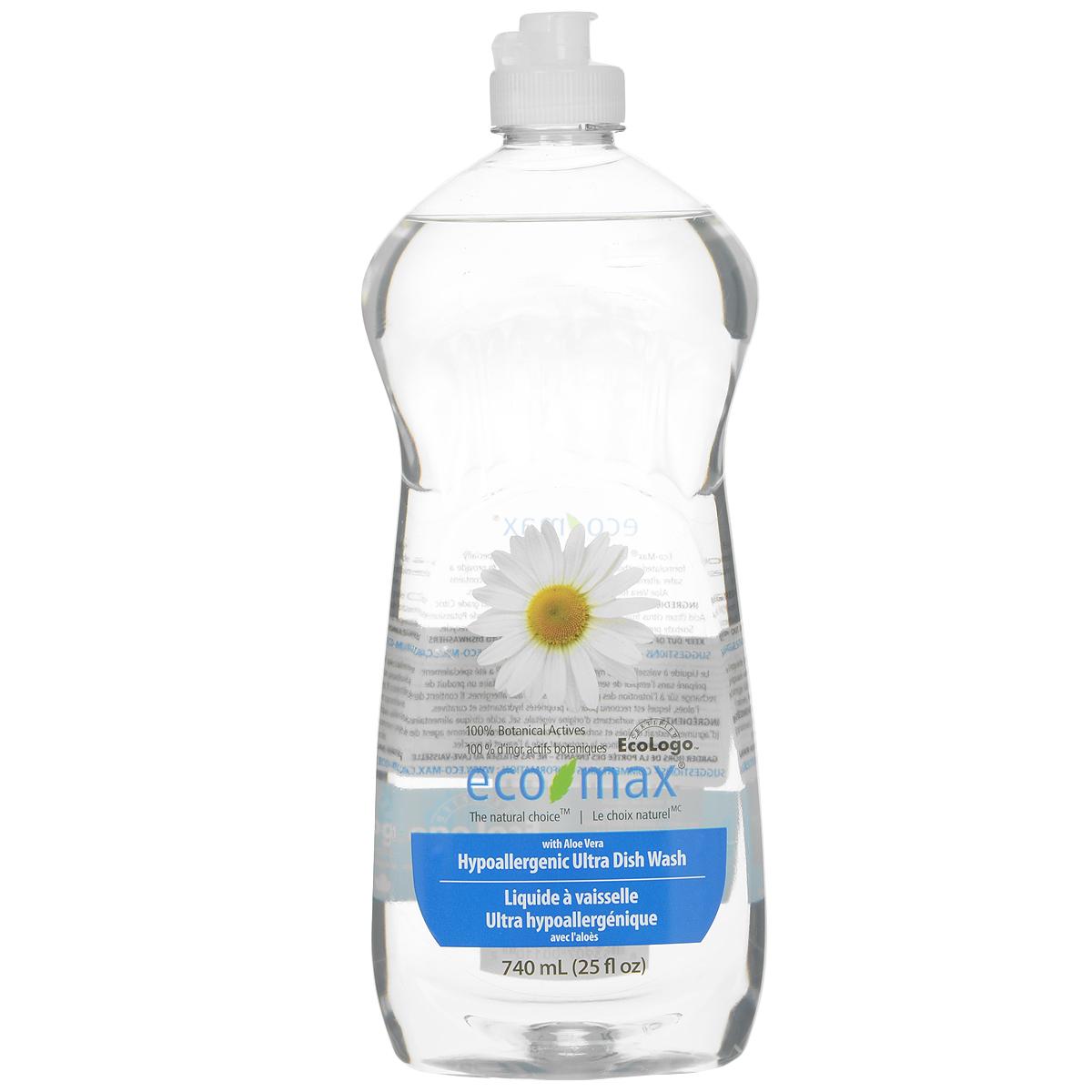 Средство для мытья посуды Eco Max, гипоаллергенное, 740 млES-412Средство для мытья посуды Eco Max - натуральное гипоаллергенное средство без запаха, на 100% растительной основе, полностью биоразлагаемое. Средство безопасно для кожи рук и прекрасно подходит для мытья детских бутылочек, чашек, сосок, молокоотсосов и т.д. В этом средстве используются активные чистящие вещества ингредиентов, полученных из биоразлагаемых и возобновляемых растительных источников. Специально разработано без использования сенсибилизаторов и безопасно для людей, чувствительных к различным запахам. Содержит алоэ вера, обладающее увлажняющими и заживляющими свойствами. Состав: вода, ПАВ растительного происхождения, растительный экстракт алоэ вера, соль, пищевой сорбат калия в качестве консерванта, пищевая лимонная кислота (из плодов лимона). Товар сертифицирован.