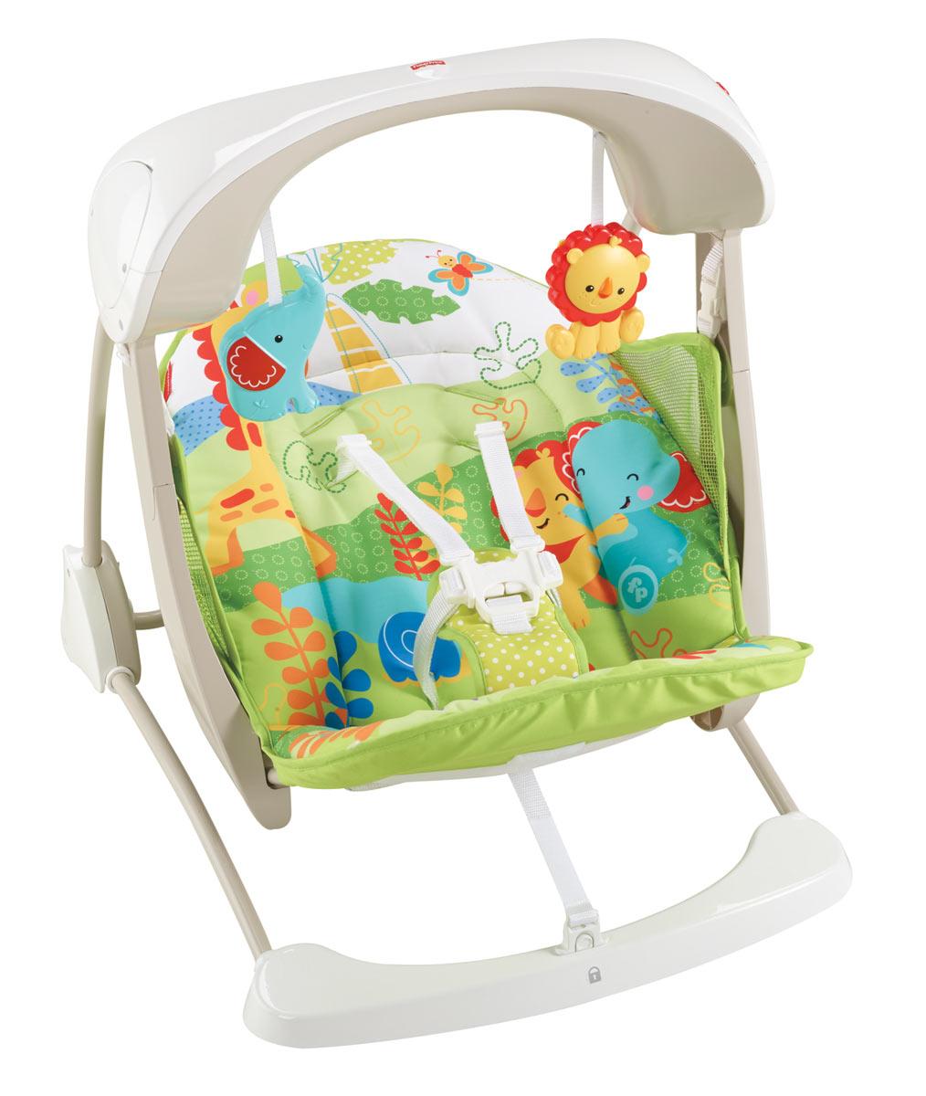 Fisher Price Fisher-price Переносное кресло-качели Друзья из тропического леса CCN92