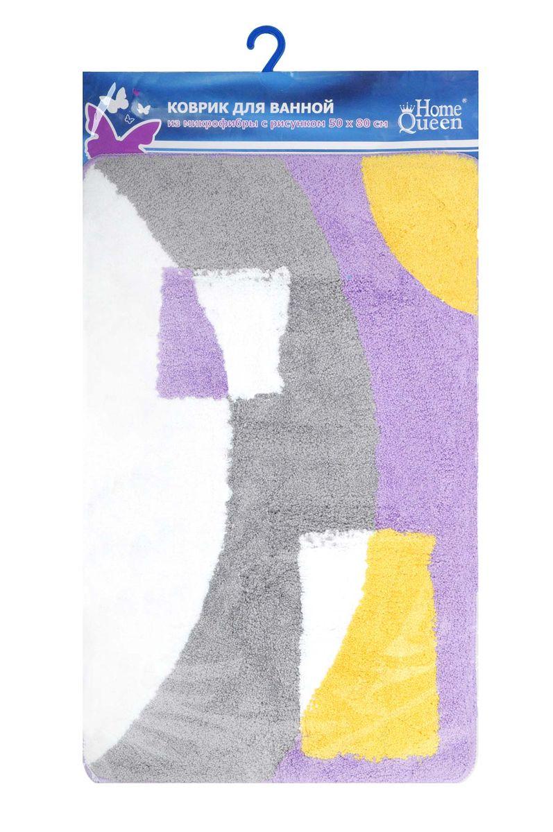 Коврик для ванной комнаты Fresh Code, цвет: сиреневый, 80 см х 50 см58178Коврик для ванной Fresh Code изготовлен из 100% полиэстера. Коврик, украшенный ярким цветным рисунком, создаст уют в ванной комнате. Высокий пушистый ворс из микрофибры превосходно впитывает влагу, создает комфортное, очень мягкое покрытие. Рекомендации по уходу: - стирать в ручном режиме, - не использовать отбеливатели, - не гладить, - не подходит для сухой чистки (химчистки).