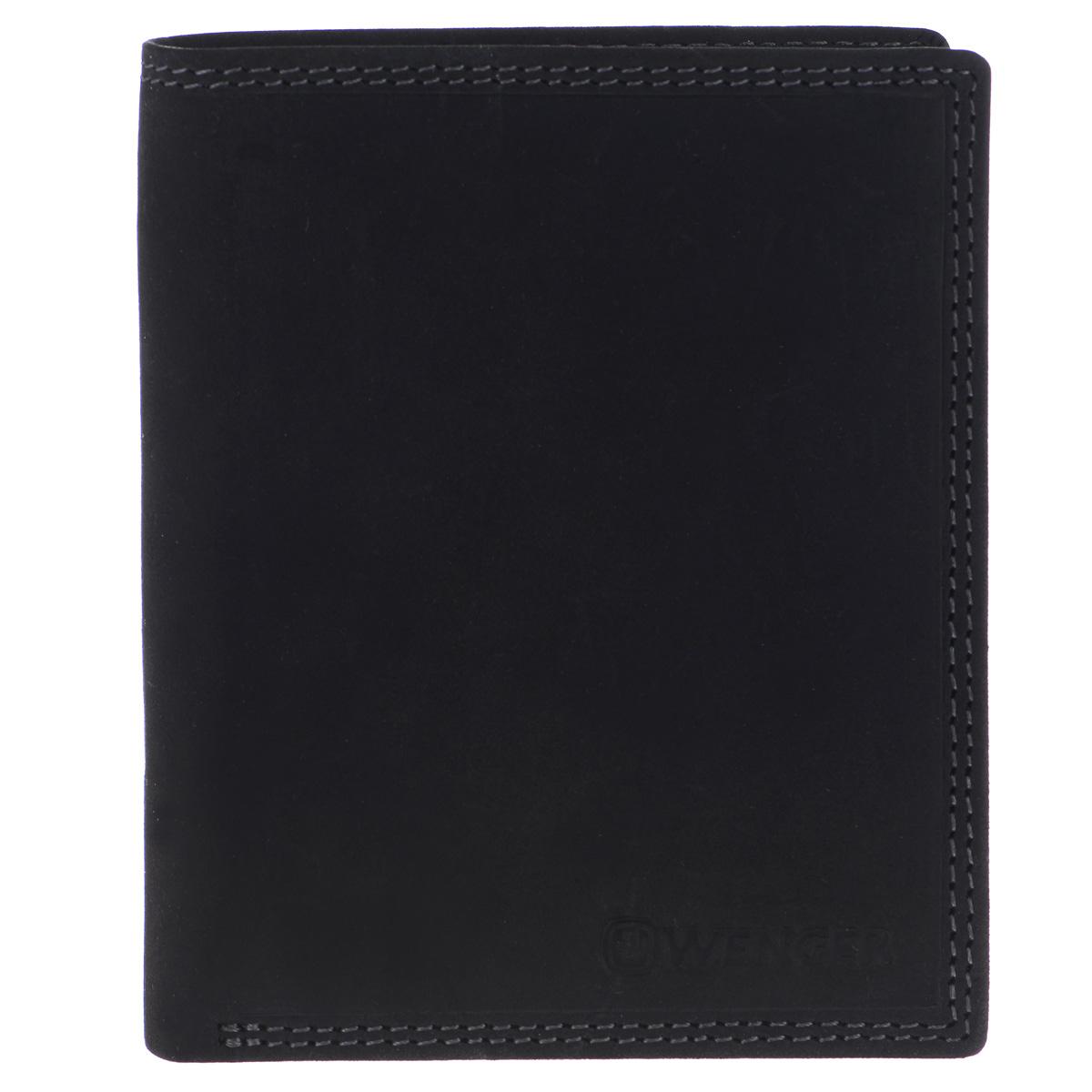 Портмоне мужское Wenger, цвет: черный. W5-02ICE 8508Стильное мужское портмоне Wenger изготовлено из натуральной кожи и оформлено тиснениями в виде названия и логотипа бренда на лицевой стороне. Внутри - два отделения для купюр, отсек для мелочи на замке-кнопке, боковой карман и врезной карман на застежке-молнии. Изюминкой модели является то, что часть отсеков портмоне закрыто хлястиком на кнопку: три боковых кармана, сетчатый карман и восемь прорезей для визиток и кредитных карт.Портмоне упаковано в изысканную фирменную коробку.Модное портмоне Wenger не оставит равнодушным истинного ценителя прекрасного.По всем вопросам гарантийного и постгарантийного обслуживания рюкзаков, чемоданов, спортивных и кожаных сумок, а также портмоне марок Wenger и SwissGear вы можете обратиться в сервис-центр, расположенный по адресу: г. Москва, Саввинская набережная, д.3. Тел: (495) 788-39-96, (499) 248-56-56, ежедневно с 9:00 до 21:00. Подробные условия гарантийного обслуживания приведены в гарантийном талоне, поставляемым в комплекте с каждым изделием. Бесплатный ремонт изделий производится при условии предоставления гарантийного талона и товарного/кассового чека, подтверждающего дату покупки.