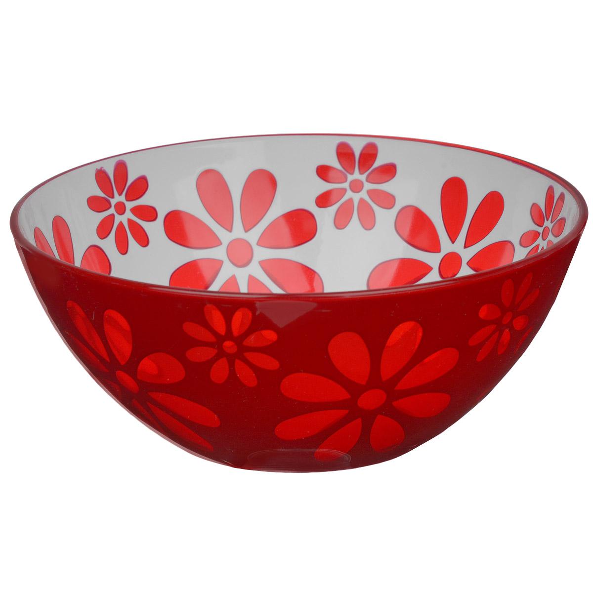 Чаша Альтернатива Соблазн, цвет: красный, 1,7 л115610Чаша Альтернатива Соблазн изготовлена из высококачественного пластика и подходит для повседневного использования. Чаша отлично подойдет для овсяных хлопьев, фруктов, риса или некоторых видов десерта. Также в ней можно приготовить салаты. Приятный дизайн подойдет практически для любого случая.