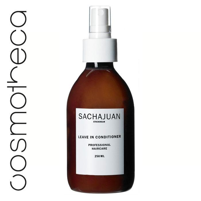Sachajuan Кондиционер для волос несмываемый 250 млFS-00897Легкий кондиционер, не содержащий масел, упрощает процесс укладки волос. Технология «Морской шелк» упрощает процесс расчесывания волос, придает им блеск и здоровый вид.